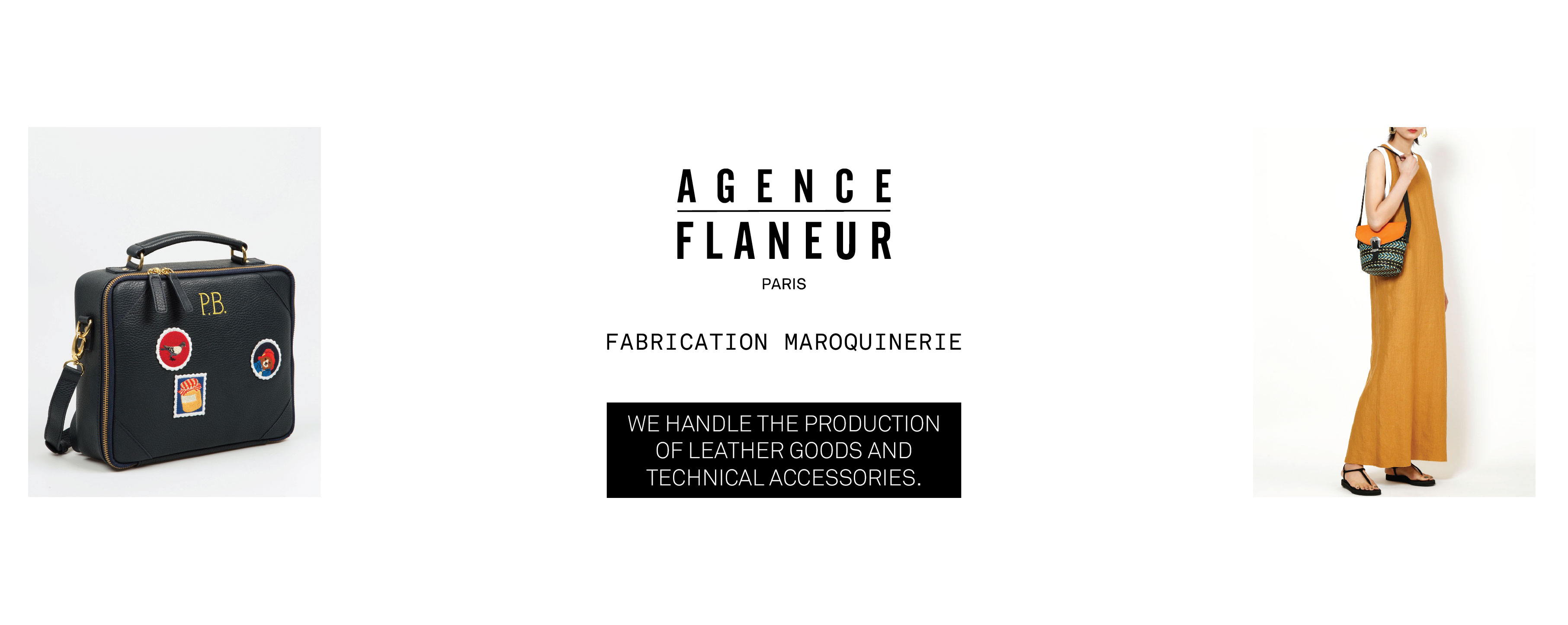 AGENCE FLANEUR – FABRICANT SAC MAROQUINERIE MASQUES TOTEBAG ACCESSOIRES